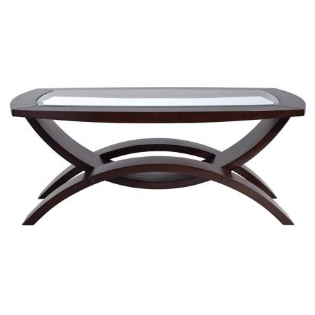 Helix Collection Rectangular Cocktail Table