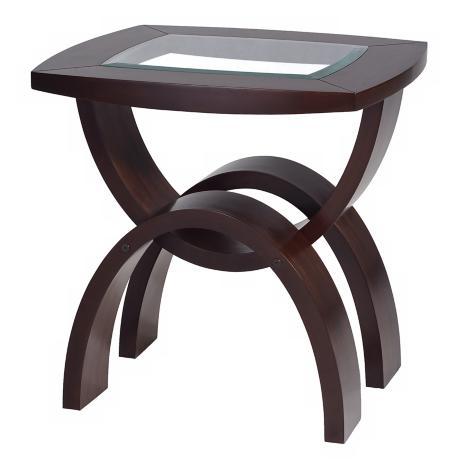 Helix Collection Rectangular End Table