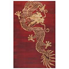 Walt Disney Signature Red Dynasty Rug