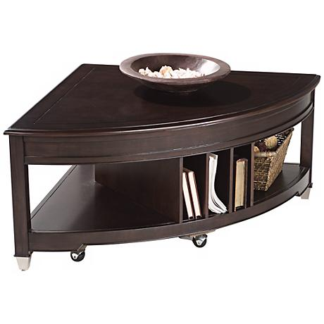 Darien Lift Top Brunt Umber Cocktail Table
