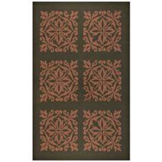 Harrington Terracotta Indoor Outdoor Rug