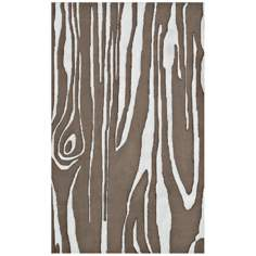 Maple Brown Indoor Outdoor Rug