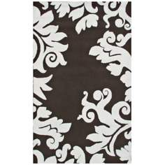 Sambas Brown Indoor Outdoor Rug