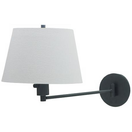 Generation Collection Granite Finish Plug-in Wall Light
