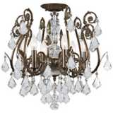 Crystorama Regis Bronze Ceiling Light