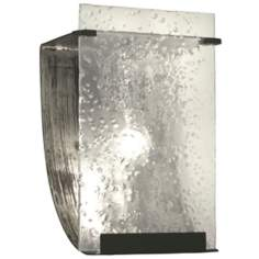 "Varaluz Rain Collection 10"" High Sconce"