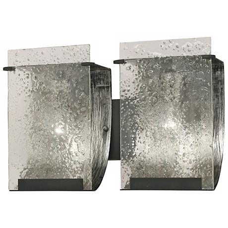 "Varaluz Rain Collection 14 1/2"" Wide Bath Light"