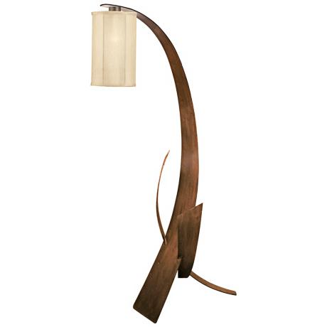 Varaluz Aizen Collection Recycled Steel Floor Lamp
