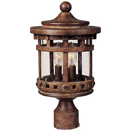 "Santa Barbara Collection 18 1/2"" High Outdoor Post Light"