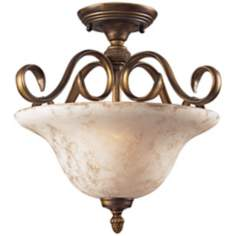 "Briarcliff Collection 18"" Wide Semi-Flush Ceiling Light"