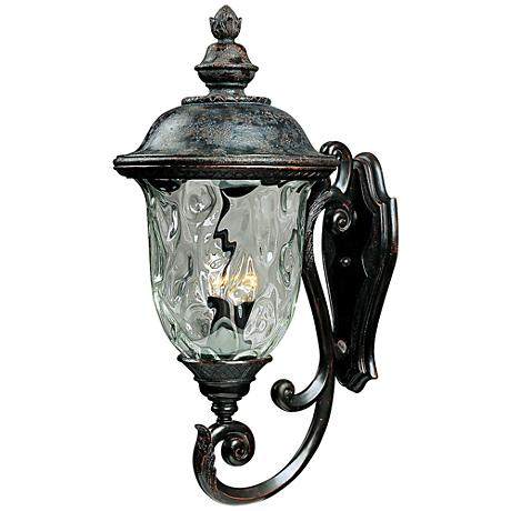 Carriage house collection 31 high outdoor wall light k0810 Exterior carriage house lights
