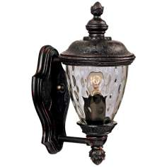 "Carriage House Collection 12 1/2"" High Outdoor Wall Light"
