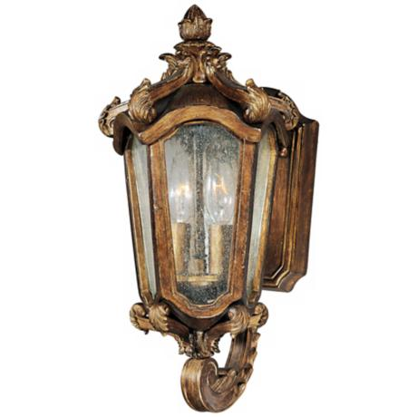 "Bastille Collection 15"" High Outdoor Wall Light"