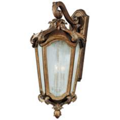 "Bastille Collection 27"" High Outdoor Wall Light"