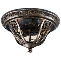 "Montecito Collection 14"" Wide Ceiling Light"