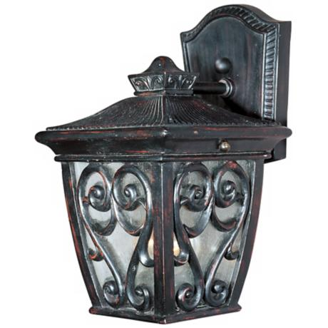 "Newbury Collection 9"" High Outdoor Wall Light"
