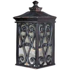 "Newbury Collection 12 1/2"" High Outdoor Wall Light"