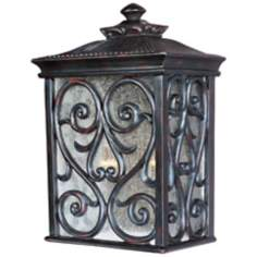 "Newbury Collection 15"" High Outdoor Wall Light"