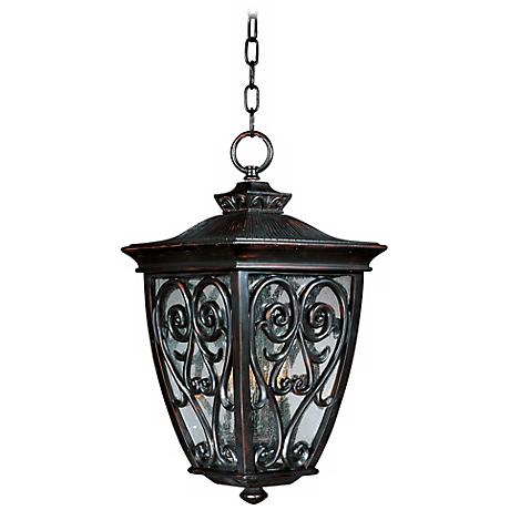 "Newbury Collection 19 1/2"" High Outdoor Hanging Light"