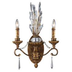 "Segovia Collection Spanish Bronze 22"" High 2-Light Sconce"