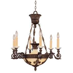 Savoy House European 6-Light Chandelier