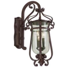 "Hartford Collection Bronze 17 1/2"" High Outdoor Wall Light"