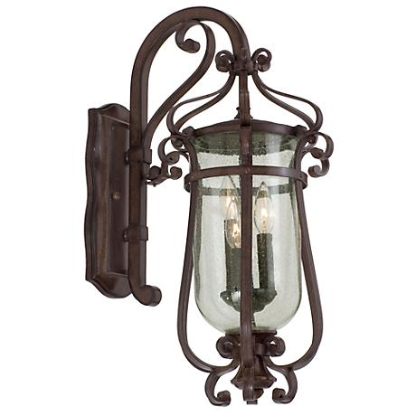 "Hartford Collection Bronze 23"" High Outdoor Wall Light"