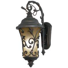 "Enchantment Collection Energy Efficient 21"" High Wall Light"