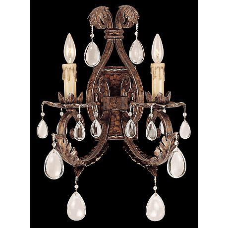 Savoy House Chastain Tortoise Shell 2-Light Wall Sconce