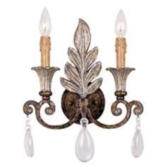 "Savoy House St Laurence 14 3/4"" High Wall Sconce"