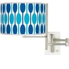 Tempo Jet Set Plug-in Swing Arm Wall Light