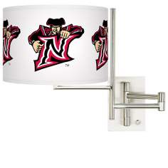 CSUN Matadors Steel Swing Arm Wall Light