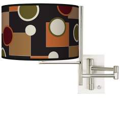 Tempo Retro Medley Plug-in Swing Arm Wall Light
