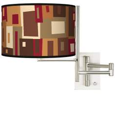 Tempo Earth Palette Plug-in Swing Arm Wall Light