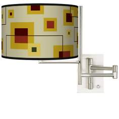 Tempo Windows Plug-in Swing Arm Wall Light