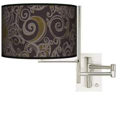 Stacy Garcia Ornament Metal Plug-in Swing Arm Wall Light
