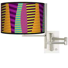Mambo Plug-In Swing Arm Wall Light