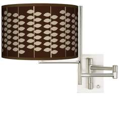 Tempo Hi Fi Plug-In Swing Arm Wall Light