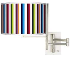 Technocolors Plug-In Swing Arm Wall Light