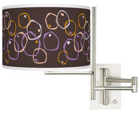 Tempo Linger Plug-In Swing Arm Wall Light