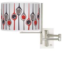 Tempo Shutter Plug-In Swing Arm Wall Light