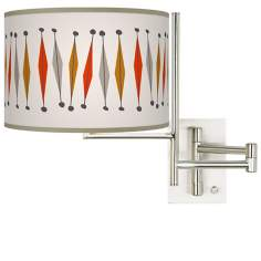 Tempo Tremble Plug-In Swing Arm Wall Light