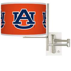 Auburn University Steel Swing Arm Wall Light