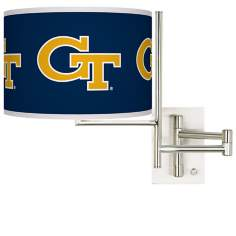 Georgia Tech Steel Swing Arm Wall Light