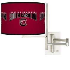 University of South Carolina Steel Swing Arm Wall Light
