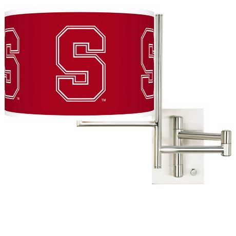 Stanford University Steel Swing Arm Wall Light