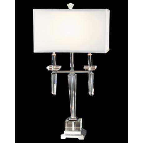 Dale Tiffany Lowell Crystal Table Lamp