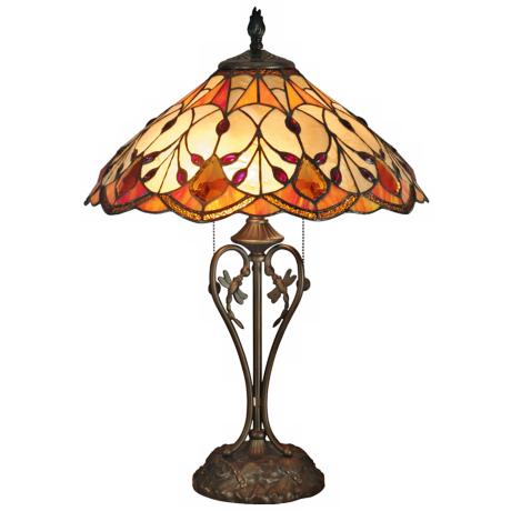 Dale Tiffany Marshall Art Glass Table Lamp K1448 Www