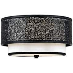 "Utopia Collection 15"" Wide Flushmount Ceiling Light Fixture"