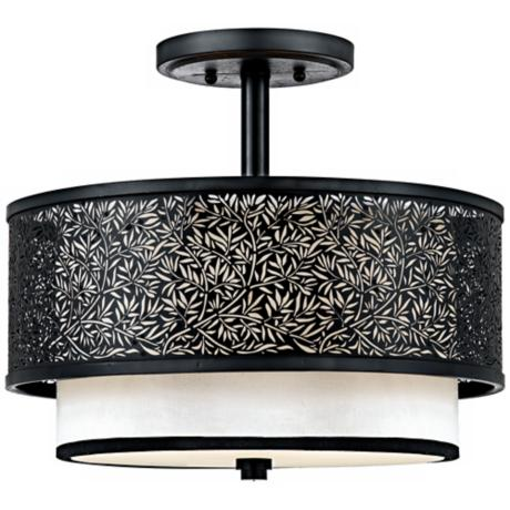 "Utopia Collection 15"" Wide Ceiling Light Fixture"